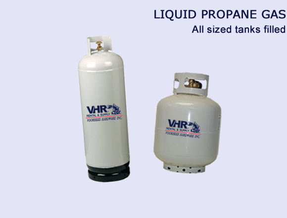 Propane Gas - All Tanks Filled