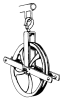 Hoist Arm Wheel