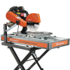 """24"""" Wet Saw with 18"""" Diagonal Cut"""